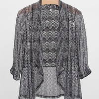 BKE Boutique Open Weave Cardigan
