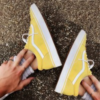 Vans Classics Old Skool Yellow Sneaker Yellow