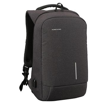 Men's And Women's Laptop College Student Bag