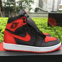 "Air Jordan 1 OG High SE ""Satin"" Material Men Sneaker"