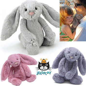 Ultra Soft Official Jelly Cat from London Plush Bunny Rabbit