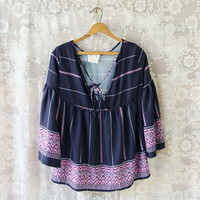 Midnight Lavender Top