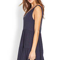 Classic Tiered Smock Dress