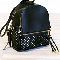 Spread Your Wings Backpack - Black