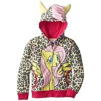 My Little Pony - Fluttershy Front Girls Youth Costume Zip Hoodie