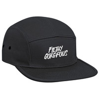 Filthy Gorgous Limited Edition 5 Panel Camp Cap Hat