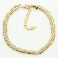 Sexy Cute Jewelry Ladies New Arrival Stylish Shiny Gift Metal Chain Anklet [6768810695]
