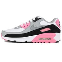 Morechoice TUJA Nike Air Max 90 GS Rose Pink CD6864 104 Women Sports Shoes Sneaker Casual Running Shoes