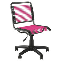 Jay Bungie Office Chair, Black/Pink, Desk Chairs