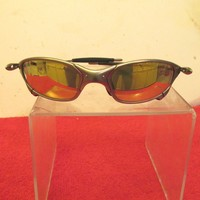 VINTAGE OAKLEY X METAL JULIET SILVER FRAME SUNGLASSES FOR PARTS OR REPAIR
