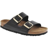 Birkenstock Women's Hunter Black Arizona Soft Footbed Sandals (N)