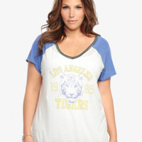 LA Tigers Graphic Raglan Tee