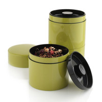 The Green Head - Stacking Tea Tins