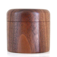Handcrafted Walnut Keepsake Box with Magnetic Lid
