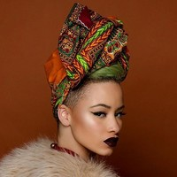 African-Inspired Ankara Head Wrap