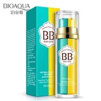 BIOAQUA BB Cream Liquid Foundation Makeup Primer 2 In 1 Base Maquiagem Make Up Flawless Corrector Nude Cosmetics tools