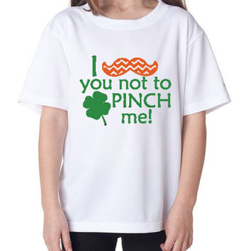 St. Patricks Day I MUSTACHE you not to pinch me tshirt! Saint Paddy's day Tshirt