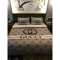 4Pcs Classic New Design Duvet Cover Queen Bedding Sets