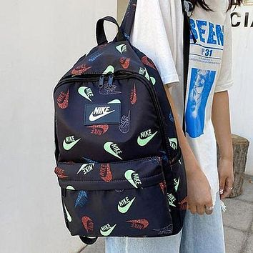 NIKE Products Fully Printed Logo Printed Men's and Women's Backpack, School Bag, Travel Bag, Luggage Bag
