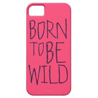 Wild Customizable Text iPhone 5 Case from Zazzle.com