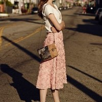 Petaluma Skirt by HD in Paris Pink