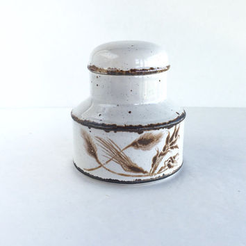 Vintage Midwinter Stonehenge Wild Oats Covered Sugar Bowl