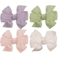 Hair Bow Gift Pack. No Slip Baby, Toddler, or Teen Bow Set. Maddie.