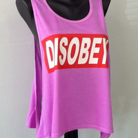 TANK TOP- DISOBEY