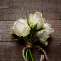 Flower photography, rustic decor, white, roses, romantic art, girly, nursery wall decor, brown, cottage style, fine art photo, 8x10, floral