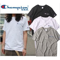 Champion Embroidered T-Shirt