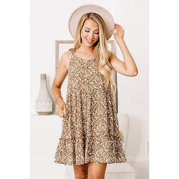 Find What You Need Floral Mini Dress