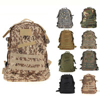 Military Style 3D Backpack/ 9 Colors Available
