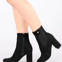 Nothin But A Friend Boot - Black