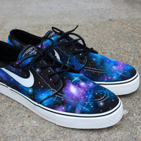 Galaxy Nike Janoski's by Sophiescustomshoes on Etsy