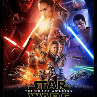 Star Wars: The Force Awakens Movie Poster 11x17