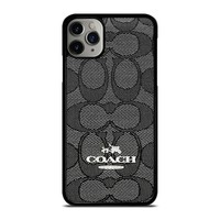 COACH NEW YORK CHARLIE SIGNATURE iPhone Case Cover