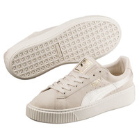 Suede Summer Satin Platform Sneakers, buy it @ www.puma.com