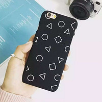 Triangle  Circle iPhone 6 6s Plus Case Samsung Gift-95