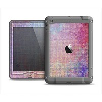 The Messy Water-Color Scratched Surface Apple iPad Air LifeProof Nuud Case Skin Set