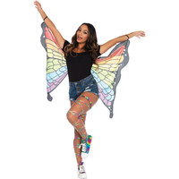 Rainbow Butterfly Wings Adult
