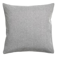 Cotton cushion cover - Anthracite grey - Home All | H&M GB
