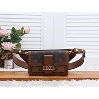 LV Louis Vuitton MONOGRAM CANVAS Dauphine WAIST PACK CROSS BODY BAG