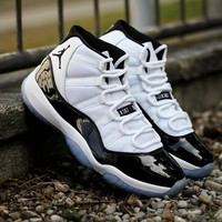 "Air Jordan 11 ""Concord"" Basketball Shoes"