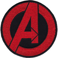 The Avengers Iron-On Patch Round Classic Logo