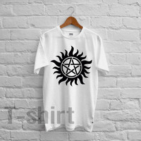 antipossession symbol supernatural tee - 1nyy Unisex T- Shirt For Man And Woman / T-Shirt / Custom T-Shirt / Tee / Tees / T-Shirts