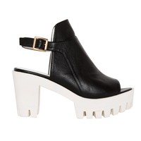 Drifter White Platform Shoes
