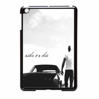 Fast And Furious 7 Ride Or Die Dom Toretto iPad Mini Case