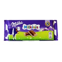 Milka Milkinis Chocolate Bar, 3.5 oz (100 g)