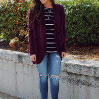 Sugar Plum Cardigan