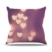 "Beth Engel ""Your Love is Electrifying"" Outdoor Throw Pillow"